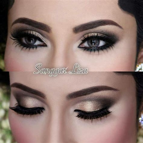 tutorial dandan india make up pengantin ala arab saubhaya makeup