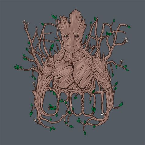 we are groot by sugarpoultry on deviantart