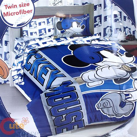 dodgers bed set mickey mouse la dodgers player comforter 3pc mlb disney