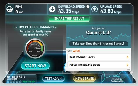 test mobile speed how to test your speed broadband checker pc
