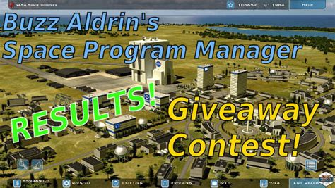 Giveaway Manager - buzz aldrin s space program manager giveaway contest results spacesector com