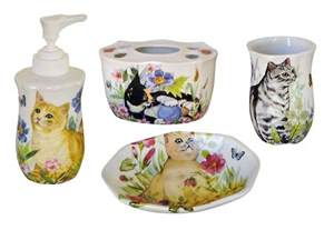 bathroom ceramic accessories painted porcelain bathroom accessories decorated