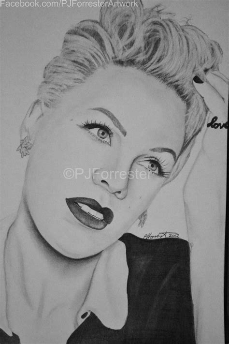 pink drawing pink drawing by perfectpaula on deviantart