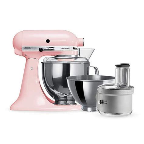 KitchenAid Artisan KSM160 Stand Mixer Pink w/ Food