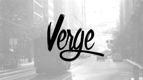 design font photoshop creating a modern verge logo design in photoshop youtube