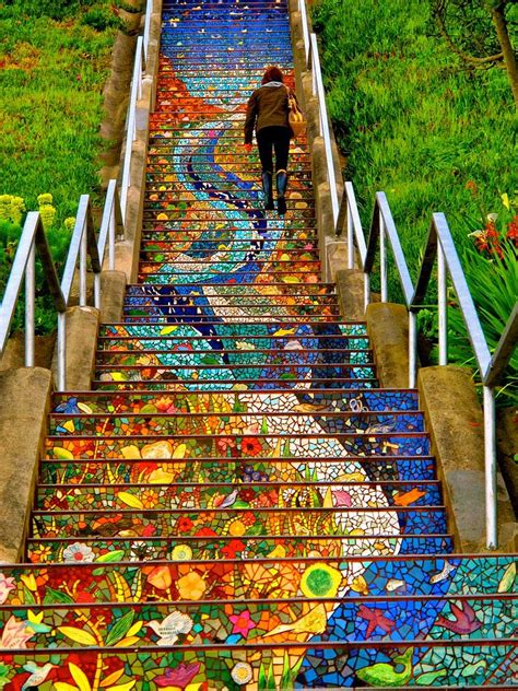 color run sf 17 beautifully painted stairs from all the world