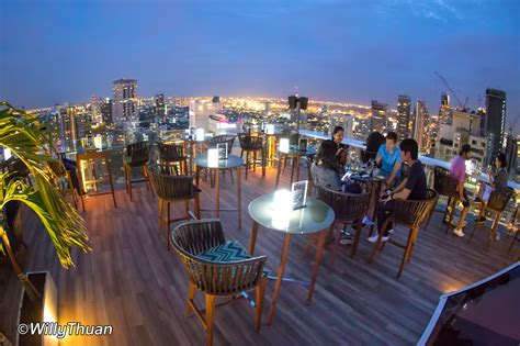 roof top bar in bangkok vanilla sky rooftop bar bangkok bangkok magazine