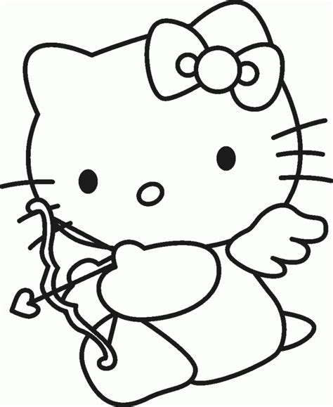 hello kitty characters coloring pages hello kitty cartoon characters coloring home