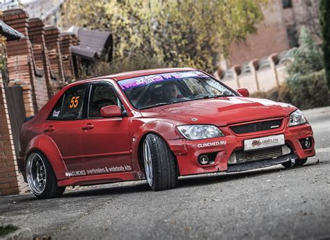 widebody lexus is300 clinched lexus is300 toyota altezza widebody kit ebay