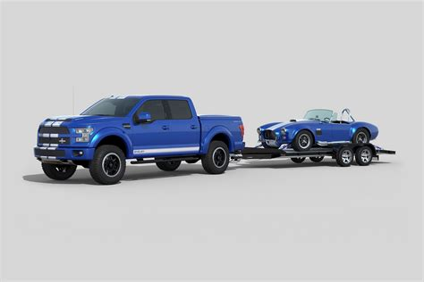 shelby brings the blue thunder to sema with 700hp f 150