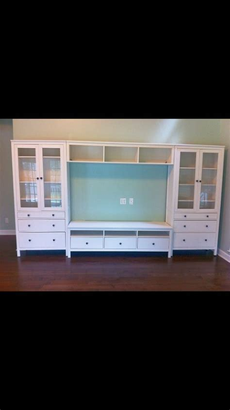 ikea entertainment center ikea quot hemnes quot entertainment center