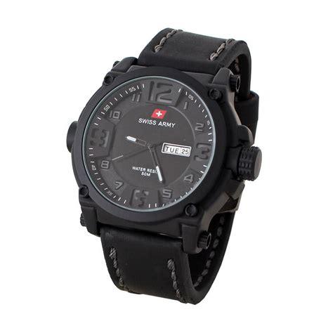 Jam Tangan Pria Swiss Army 967 jual swiss army 069m jam tangan pria bonus baterai hitam harga kualitas terjamin