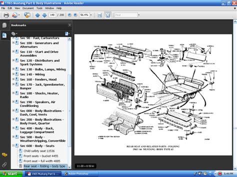 free online car repair manuals download 1967 ford thunderbird head up display 65 mustang owners manual online pdf free