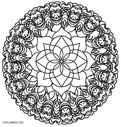 printable coloring pages kaleidoscope printable kaleidoscope coloring pages for cool2bkids