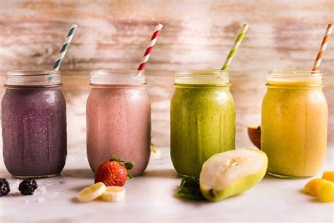 4 fruit smoothie recipes 4 high protein fruit smoothie recipes you need to try a