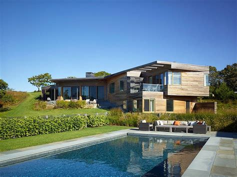 marthas house hillside delight contemporary farm house takes shape on martha s vineyard