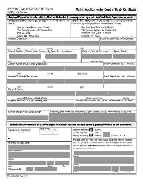 graphic design certificate new york mail in application for copy of death certificate new