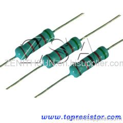 wirewound vs carbon resistor 22ohm 1w resistor carbon cf manufacturer from china shenzhen zenithsun electronics tech co ltd