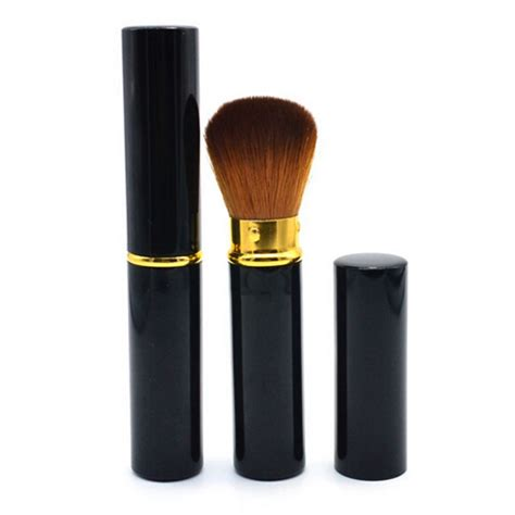 Travel Mini Brush Urgent 4 In 1 Single Brush travel retractable makeup tool mini blush brush eye brow