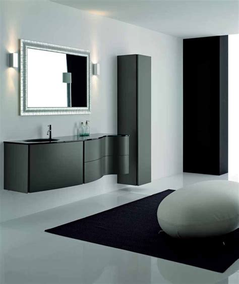 Elegant Black Bathroom Cabinets Max From Novello Digsdigs Bathroom Furniture Design
