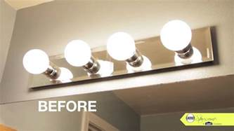 Replacing Bathroom Light Fixture How To Replace Bathroom Lighting Fixture Interiordesignew