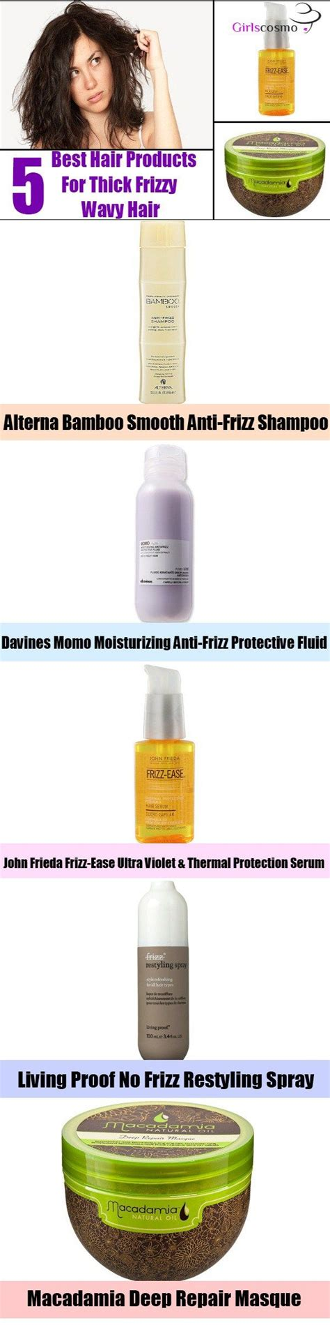 best products for frizzy hair best 25 thick frizzy hair ideas on frizzy