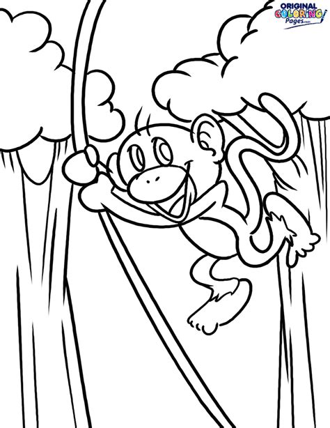 monkey family coloring pages monkey family pages coloring pages