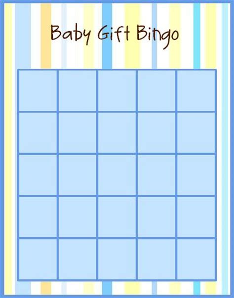 Baby Shower Gift Bingo Cards - free baby shower bingo at invitations and more com