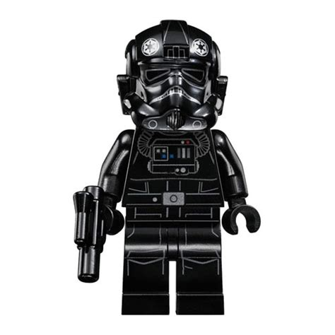 Lego Tie Fighter Pilot Minifig lego minifigure wars tie fighter pilot with blaster bbtoystore toys plush