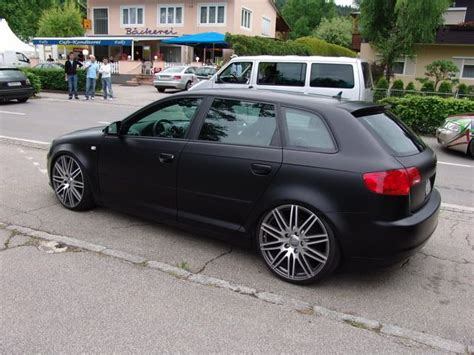 Audi A3 Sportback Fußmatten by A3 Negro Mate Negro Mate Audi A3 Matte