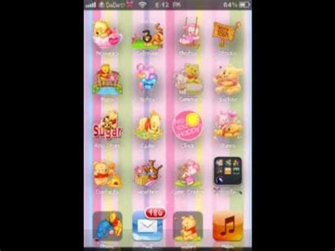 cute themes on cydia 11 cute girly themes from cydia youtube