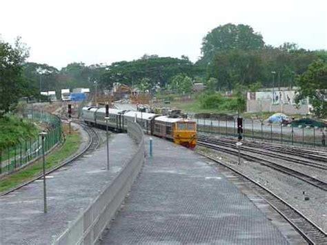 alsthom 4140 mtu s exp 953 arriving padang besar station