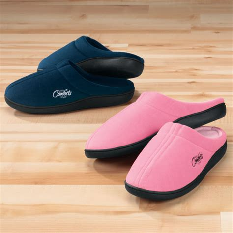 easy comforts easy comforts style memory foam slippers easy comforts