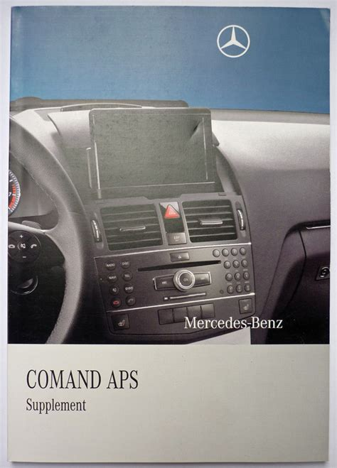 Comand Ntg4 Manual For W204 C And Glk Class Mercedes