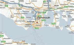 Portsmouth England Map by Portsmouth Location Guide