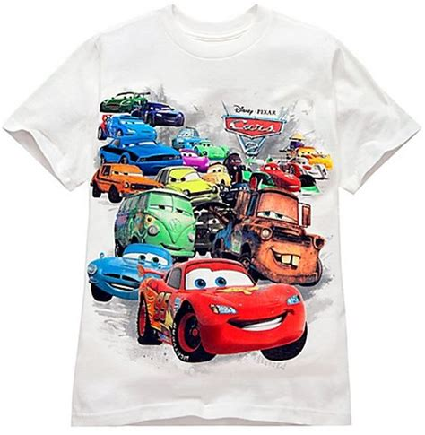 Tshirt Cars disney s cars merchandise 20 family finds
