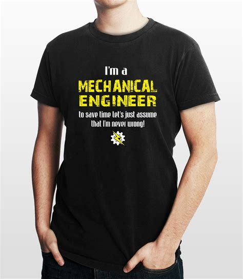 T Shirt Tshirt Engineering mechanical engineers t shirt engineering t shirt t