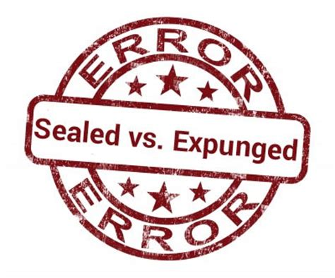 What Is The Difference Between Sealing And Expunging A Criminal Record Most Experienced Expungement Attorney Fort Wayne