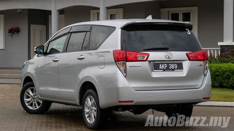 toyota my first drive 2016 toyota innova 2 0g better in every