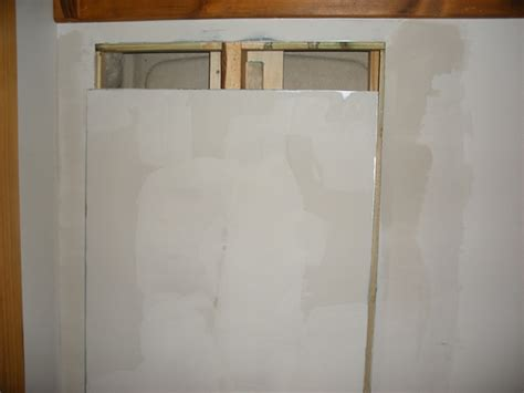 Plumbing Wall Access Panel by Building A Plumbing Access Panel In Drywall