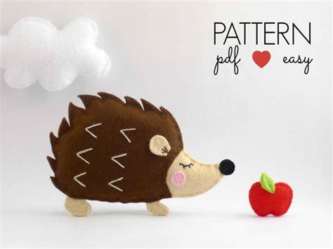 felt pattern hedgehog hedgehog pattern felt hedgehog pattern hedgehog ornament