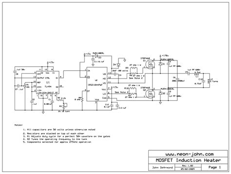 induction heater diagram induction heater schematic images
