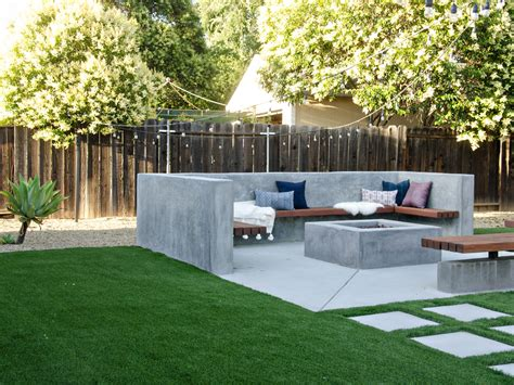 modern california backyard reveal the vintage rug shop