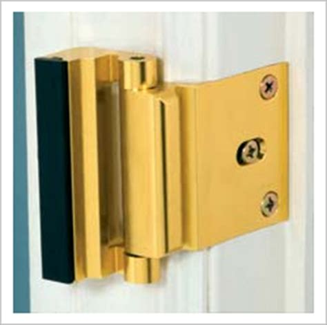 Exterior Door Security Hardware Door Guardian Security Hardware For Homes