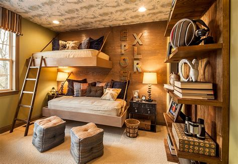kids bedroom ideas lighting and beds for kids house rustic kids bedrooms 20 creative cozy design ideas
