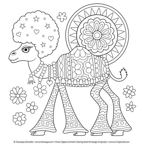 hippie coloring pages free coloring pages thaneeya