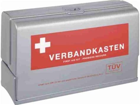 Auto Verbandkasten Neue Norm Kaufen by Erste Hilfe Din Norm Bei Verbandsk 228 Sten F 252 R Kfz Ge 228 Ndert