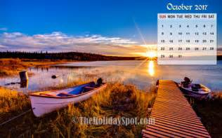 Calendar October 2017 Wallpaper Calendar Wallpaper October 2017 Wallpapers From
