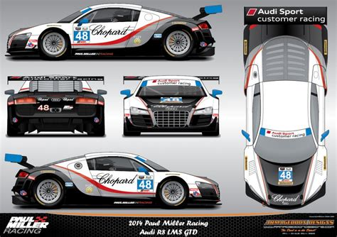 paul miller audi image paul miller racing audi r8 lms gtd livery for the
