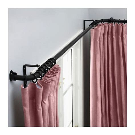 Curtain Rod Ikea Inspiration Hugad Curtain Rod Combination Bay Window Ikea Ikea Decor S